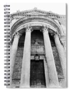 The Front Of St Paul's Cathedral Spiral Notebook