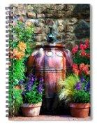 The Garden Cistern Spiral Notebook