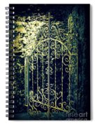 The Gate In The Grotto Of The Redemption Iowa Spiral Notebook