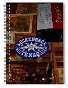 The General Store In Luckenbach Tx Spiral Notebook