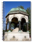 The German Fountain In Istanbul Spiral Notebook