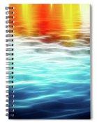 The German Wharf Spiral Notebook