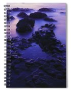 The Giants Causeway, County Antrim Spiral Notebook