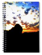 The Gift Of A New Day Spiral Notebook