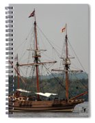 The God Speed Tall Ship Spiral Notebook