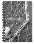 The Golden Goal Spiral Notebook