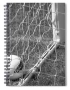 The Golden Goal Spiral Notebook