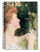 The Golden Hour Spiral Notebook