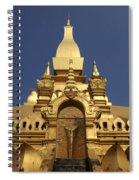 The Golden Palace Laos Spiral Notebook
