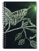 The Grasshopper Spiral Notebook