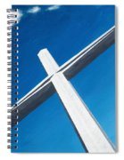 The Great Cross - Resurrection Spiral Notebook