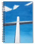 The Great Cross - Risen Spiral Notebook