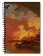 The Great Fire Of London Spiral Notebook