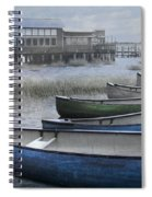 The Green Canoe Spiral Notebook