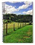 The Green Green Grass Of Home Spiral Notebook
