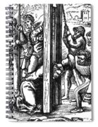 The Guillotine, 18th Century Spiral Notebook