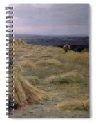 The Harvesters Svinklov Viildemosen Jutland Spiral Notebook