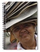 The Hat Lady Costa Rica Spiral Notebook