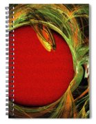 The Heart Of A Snake Spiral Notebook