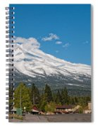 The Heart Of Mount Shasta Spiral Notebook