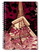 The Heart Of Paris - Digital Painting Spiral Notebook