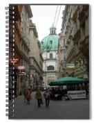 The Heart Of Vienna Spiral Notebook