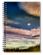 The Heavy Clouds Spiral Notebook