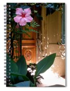 The Hibiscus Greeter Spiral Notebook