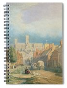 The High Street Lincoln  Spiral Notebook