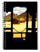 The Hills In Old Tuscon Az Spiral Notebook