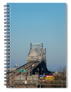 The Horace Wilkinson Bridge Over The Mississippi River In Baton Rouge La Spiral Notebook