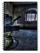 The Horror Chair Spiral Notebook