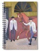 The Horse Mart  Spiral Notebook