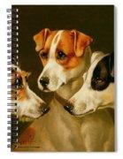 The Hounds Spiral Notebook