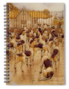 The Hounds Began Suddenly To Howl In Chorus  Spiral Notebook