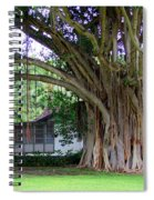 The House Beside The Banyan Tree Spiral Notebook