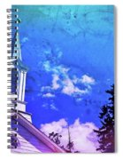 The House Of Men Under The House Of God Spiral Notebook