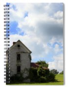 The House On The Hill Spiral Notebook