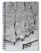 The Hundred Steps In The Snow Spiral Notebook