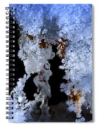 The Ice Cave Spiral Notebook