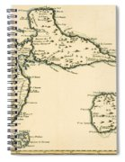 The Islands Of Guadeloupe Spiral Notebook