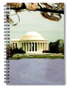 The Jefferson Memorial Spiral Notebook