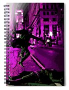 the Joker about to Pounce Spiral Notebook