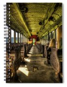 The Journey Ends Spiral Notebook