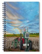 The Journey Of A Farmer Spiral Notebook