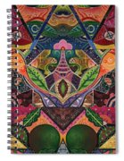 The Joy Of Design Series Arrangement Cornucopia Spiral Notebook