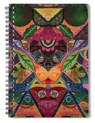 The Joy Of Design Series Arrangement Embracing Complexity Spiral Notebook