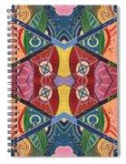 The Joy Of Design V Arrangement Hanging In The Balance Spiral Notebook