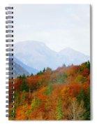 The Julian Alps In Autumn At Lake Bohinj Spiral Notebook
