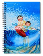 The Kayak Racer 10 Spiral Notebook